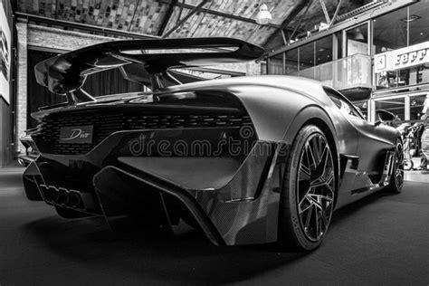 Taken originally in black and white. Editorial Bugatti Divo Stock Photos, Editorial Bugatti ...