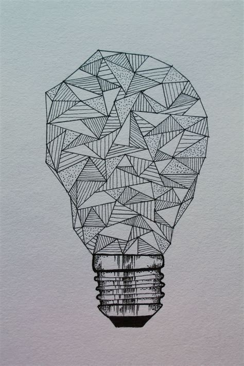 25 best ideas about light bulb drawing on