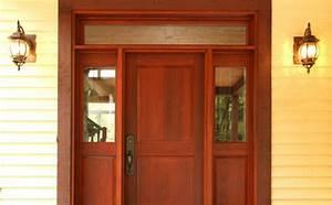 entrees de bois exterieure menuiserie de l39estrie With porte de garage de plus porte extérieure bois
