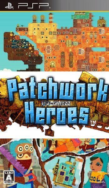 wdsupsp psp patchwork heroes multi