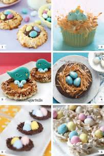 Birds Nest Easter Dessert Ideas