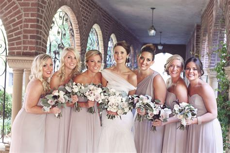 Light Taupe Bridesmaids Dresses Elizabeth Anne Designs