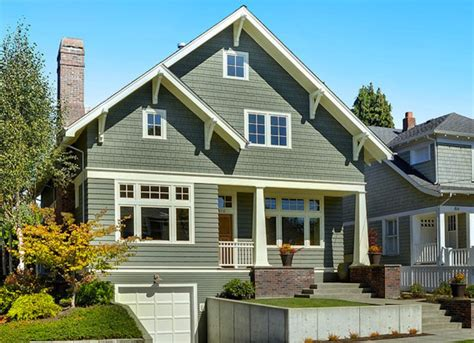 40 exterior house colors with brown roof decor