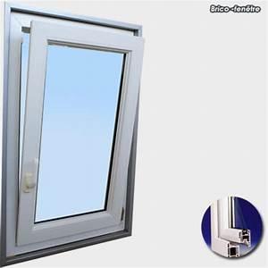 Fenetre pvc gamme confort a 1 vantail ouvrant oscillo battant for Porte fenetre 1 vantail pvc