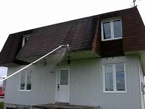 Nettoyage Toiture Karcher : nettoyage toiture 3 maisons youtube ~ Dallasstarsshop.com Idées de Décoration