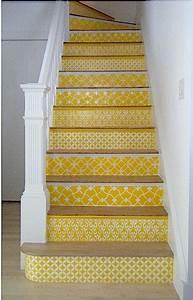 Contre Marche Deco : dream stairs escaliers de r ve moutarde brique jules jenn deco d co maison et deco ~ Dallasstarsshop.com Idées de Décoration