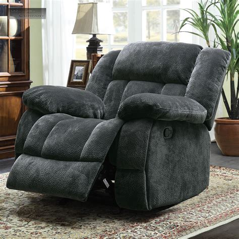 Lazyboy Loveseats by New Grey Rocker Glider Recliner Loveseat Lazy Sofa