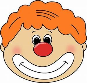 Clown Face Clipart - Clipart Suggest