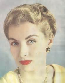 1940s Wartime Hairstyles by From A 1947 Vogue Showing The Compact Styling Of The Late