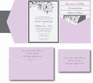 lavender and gray wedding invitation a vibrant wedding With wedding invitations gray and lavender