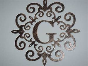 17 best images about initial quotgquot on pinterest initials With metal monogram letters wall art
