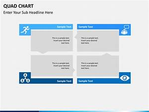 Create An Organizational Chart In Powerpoint Quad Chart Powerpoint Template Sketchbubble