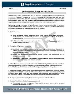 best eula template gallery resume ideas namanasacom With photo license agreement template