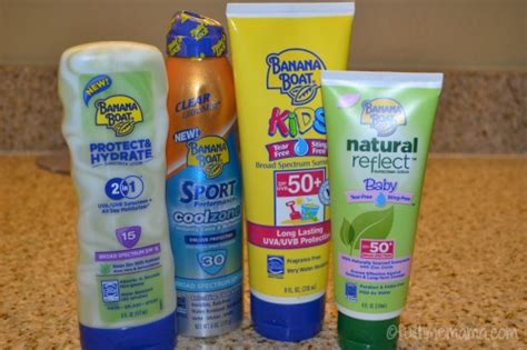 Banana Boat Sunscreen For Swimming by Protect Your Skin From The Sun With Banana Boat Sunscreen