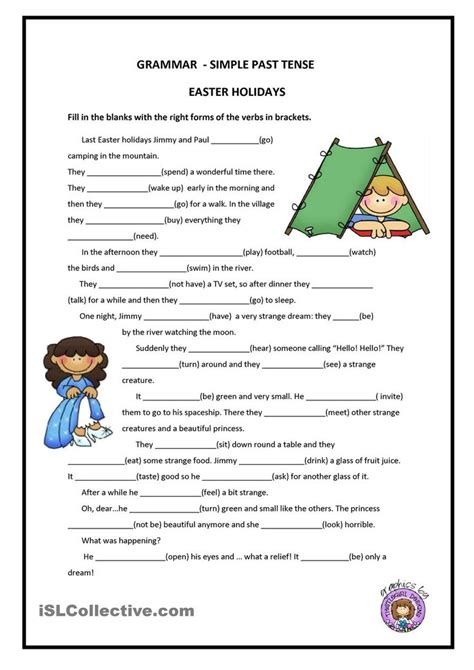 Past Simple  Free Esl Worksheets  Repinned By Chesapeake College Adult Ed We Offer Free
