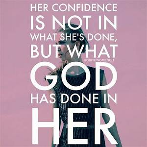 17 Best images ... God And Confidence Quotes