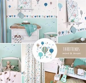 Baby Kinderzimmer Gestalten : babyzimmer farbtrends bei fantasyroom ~ Markanthonyermac.com Haus und Dekorationen