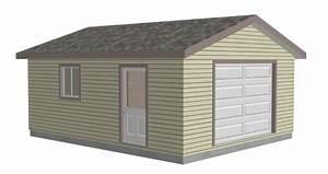 garage plans sds plans With 18x24 garage
