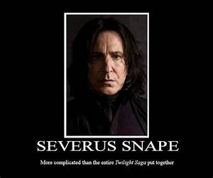 Speak of the Devil: A Day In The Life Of Severus Snape