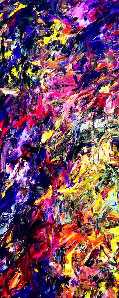 Asmodelle Estelle Abstract Expressionism Before Dawn Thoughts