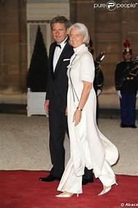 Lagarde Et Meregnani : christine lagarde et son mari l 39 elys e hier soir pour un ~ Premium-room.com Idées de Décoration