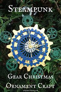 Steampunk Gear Christmas Ornament Craft