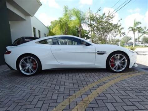 Buy Used 2014 Aston Martin Vanquish Coupe W/ Only 3k Miles