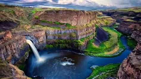 Natural wonders - Palouse Falls (Washington) - YouTube