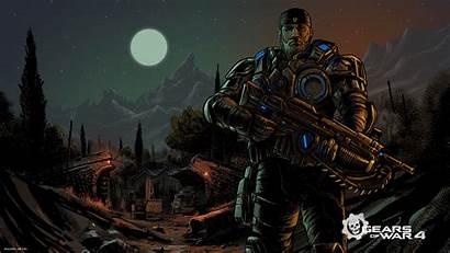 Gears War Marcus Wallpapers Games Fenix Pc