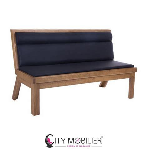 banquette type banc en bois verne city mobilier