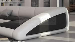 U Form Sofa : wohnlandschaft nassau u form ledersofa design couch polstersofa kaufen bei ~ Buech-reservation.com Haus und Dekorationen