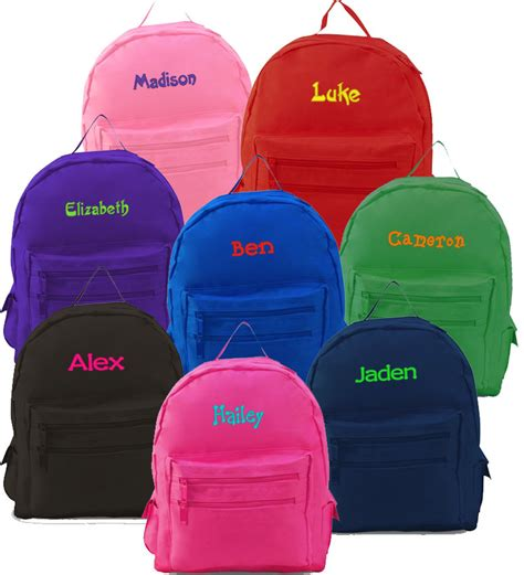 personalized preschool backpacks kids how to ensure safety with backpacks for toddler 352
