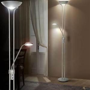 Luminaire Design Led : lampadaire led 25 watts luminaire spot interrupteur lampe de lecture salle de s jour achat ~ Teatrodelosmanantiales.com Idées de Décoration