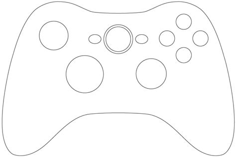 xbox  logo coloring coloring pages