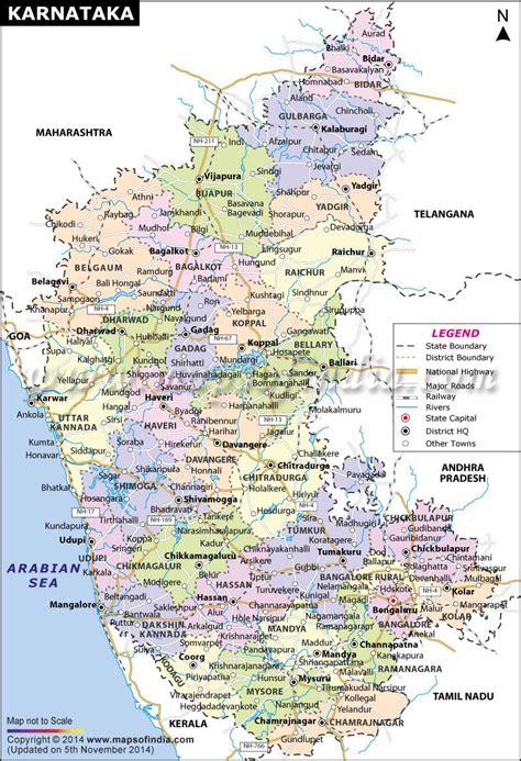 pin  krishna       karnataka highway map