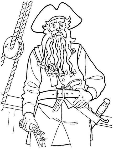 blackbeard coloring pages  getcoloringscom  printable colorings pages  print  color