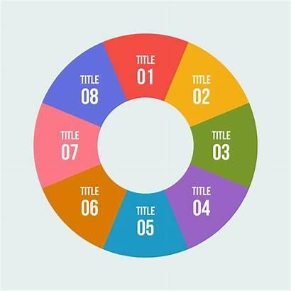 Chart Circular Circle Pie Diagram Infographic Vector