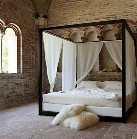 Four Poster Drapes - diy canopies on a budget canopy bed curtains