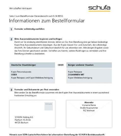 Schufa Auskunft Für Vermieter Kostenlos by Schufa Auskunft Freeware De
