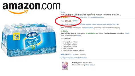 Amazon Facing Complaints After Possible Price Gouging On Water