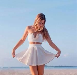Skirt: top, white, bahamagirls, fashion, style, trendy ...