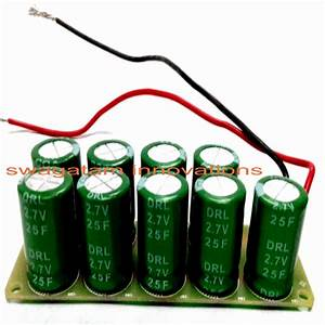 Super Capacitor Hand Cranked Charger Circuit