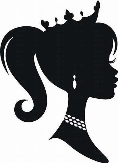 Silhouette Cameo Princess Barbie Vinyl Decal Head