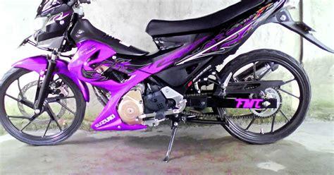 Gambar Cewek Naik Motor Fu by Modifikasi Cat Untuk Jupiter Mx Autos Post