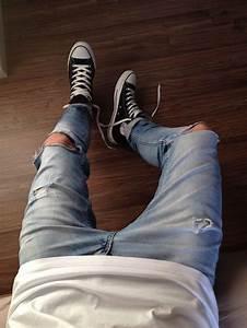 Jeans mit löchern jungen