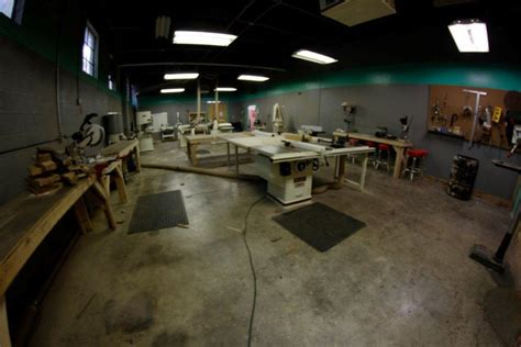 woodworkers share shop space woodworking network