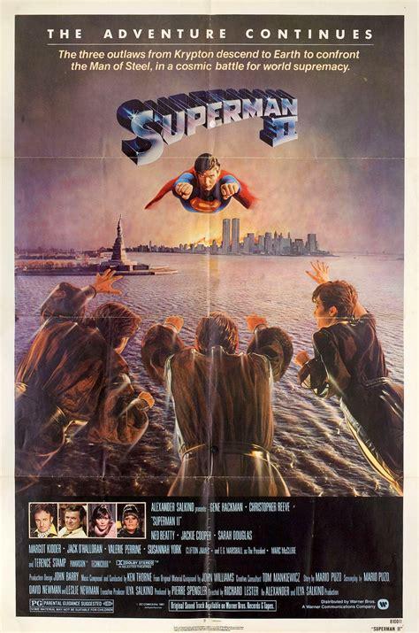 superman ii    sheet poster posteritati