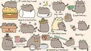 Pusheen Wallpapers - Wallpaper Cave
