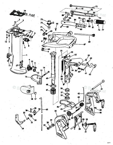 1973 Evinrude 6 5 Hp Wiring Diagram by Johnson Outboard Parts By Hp 6hp Oem Parts Diagram For