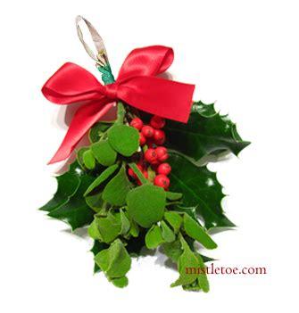 mistletoe and holly buy christmas mistletoe and holly